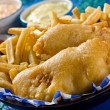 Stock Photo: Two Piece Fish and Chips