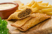 Donair Egg Rolls — Stock Photo