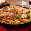 Pasta with Sausage — Stock Photo #37397413