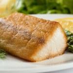 Pan Seared Fish — Stock Photo