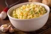 Garlic Mashed Potatoes — Stock Photo