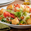 Lobster Caesar Salad — Stock Photo