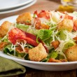 Lobster Caesar Salad — Stock Photo #41965137