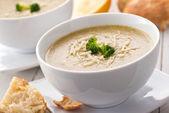 Broccoli couscous soep — Stockfoto