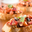 Stock Photo: Lobster Crostini