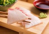 White Fish Sashimi — Stock Photo