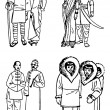 Ancient People — Stock Photo