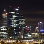Perth City Skyline at Night — Stock Photo #24215077