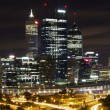 Perth City Skyline at Night — Stock Photo #24215081