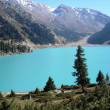 big almaty lake — Stock Photo