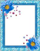 Customized Picture Frame — Stock Photo