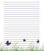 Stationery Paper — Stock Photo