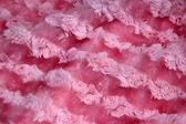 Rosa päls textil — Stockfoto