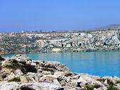 Un'insenatura nel mar mediterraneo — Foto Stock