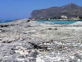 Sand on the rocks — Stock Photo