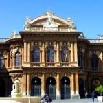The theater of Catania, Sicily — Stock Photo