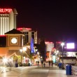 Atlantic city at night — Stock Photo
