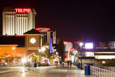 Atlantic city at night — Stock fotografie