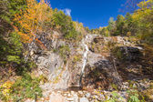 Flume Cascade, Crawford Notch State Park — Stock Photo