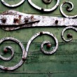 Royalty-Free Stock Photo: Vintage Decorative Hinges