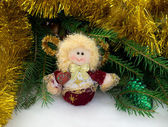 Christmas toy angel — Stock Photo