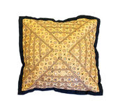 Embroidered pillow — Stock Photo
