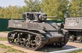 Antiguo tanque americano — Foto de Stock