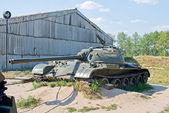 Broken tank — Foto de Stock
