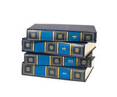 Stack of four books — Stock Photo