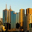 melbourne city — Stock Photo