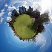Golf jest mój świat — Zdjęcie stockowe