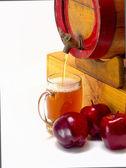 苹果酒每桶 — 图库照片