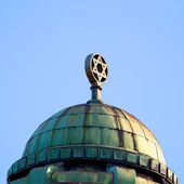 Roof of a Melbourne synagogue — Stock Photo