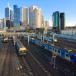Stockfoto: Four trains