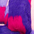 Purple skein — Stock Photo