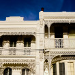 Victorian town houses in melbourne — Stock Photo