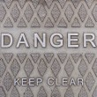 Danger sign — Foto de stock #35012315