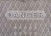 Señal de peligro — Foto de Stock