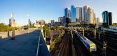 Melbourne public transport — Stock Photo