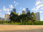 Melbourne on a sunny morning — Stock Photo