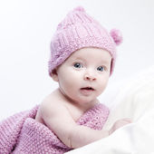 A cute little baby — Stock Photo