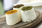 Spices Cheese Goat Factory — Stock Photo