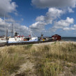 Denmark Fishing Boat close to Skagen — Stock Photo