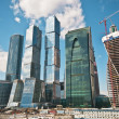 The Moscow International Business Center, Moscow-City - Stock Photo