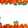 Strawberries frame — Stock Photo #24426899