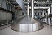 酿造厂的糖化系统 — 图库照片