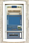Wall cash dispense — Stock Photo