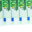 One hundred euro banknotes — Stock Photo #29447221