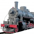 Historic train on white background — Stock Photo
