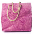 Stock Photo: Red shopping bag